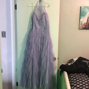 Lavender Purple Prom Dress